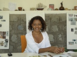 Manale Degnew, clothes and now jewellery designer