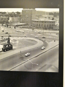 Addis in 1970 by Belete Tekele, the same with far less cars