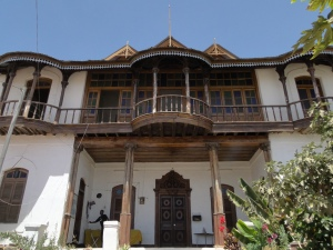 Tafari Makkonen's house in Harar, recently restored and turned museum