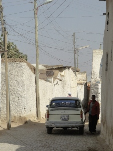 A typical street in Harar