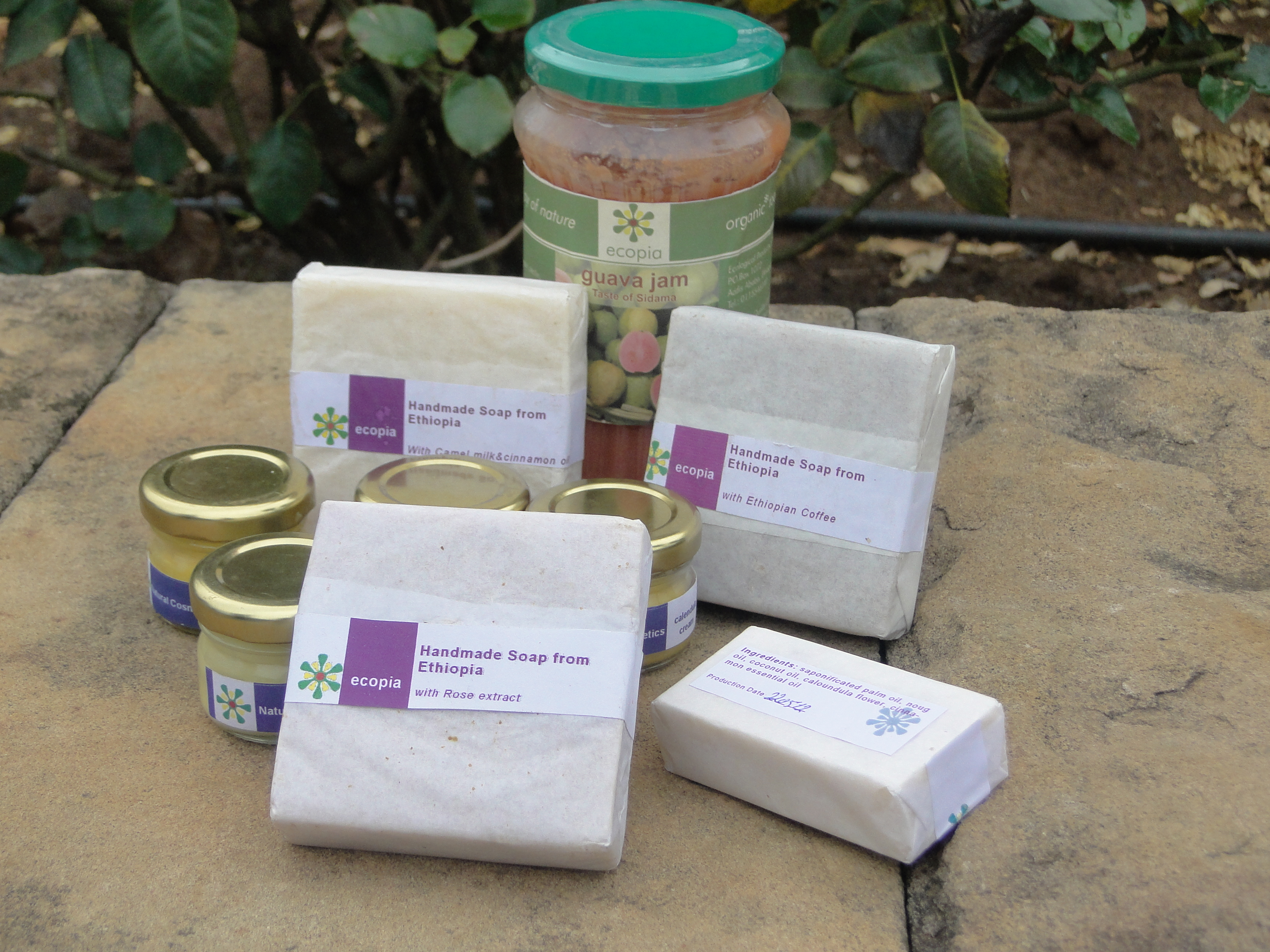 Women of Addis (III): Mitslal and her ECOPIA jam and soap