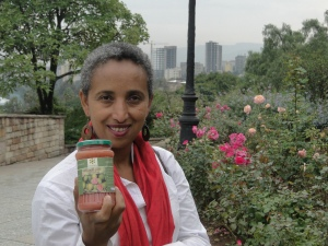 Mistlat with her Ecopia guava jam