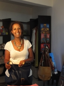 Hiruth Gougsa and her creations