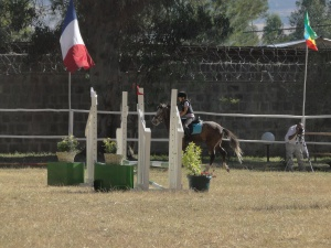 Horse Riding competition at the French embassy in Addis