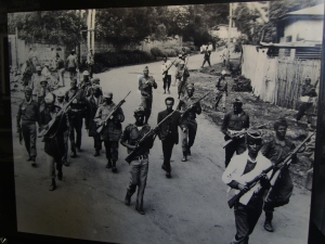 a raid to a civilian's house during the Red Terror
