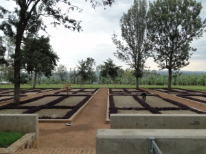The Nyarubuye genocide Memorial in the Kirehe District of Rwanda