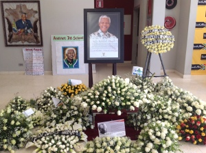 Nelson Mandela being remembered at the South African Embassy in Addis