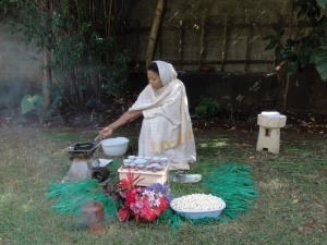 a typical coffee ceremony