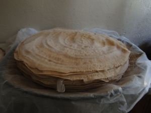 Baking Injera