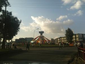 festive Merkato in Addis