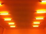 Eliasson's trademark light